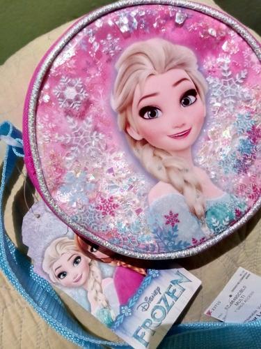 bolso bandoleros disney frozen para niñas redondos