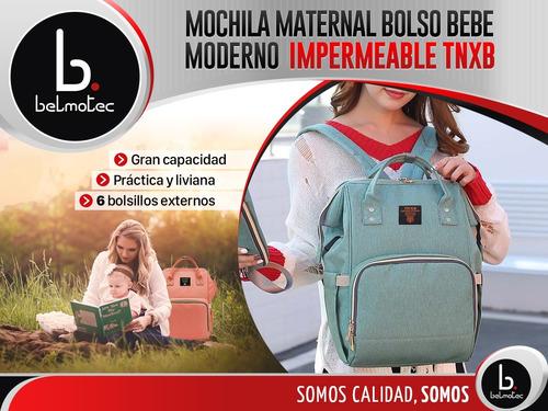bolso bebe mochila maternal