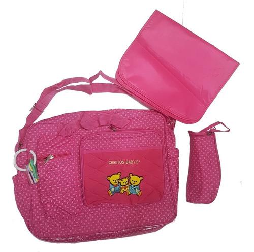 bolso bebe o pañalera incluye accesorio de la foto (hstyle)