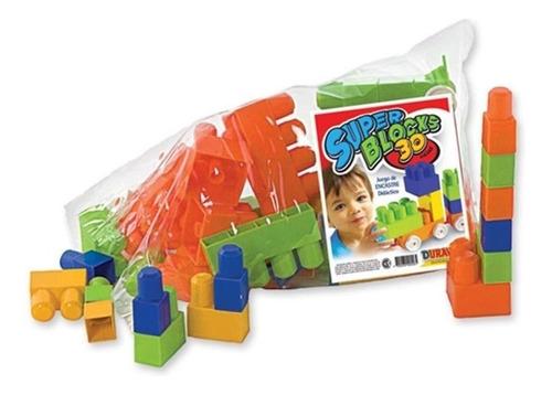 bolso bloques duravit ladrillos didácticos mod 556 30 piezas