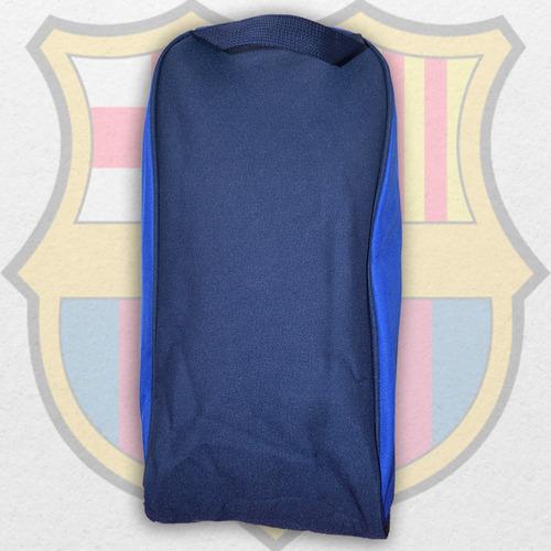 bolso botinera del fc barcelona de fútbol basketball 20 x 40