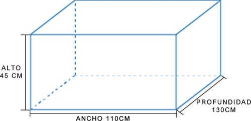bolso c de lona para caja amarok ranger hilux s10 130cm prof