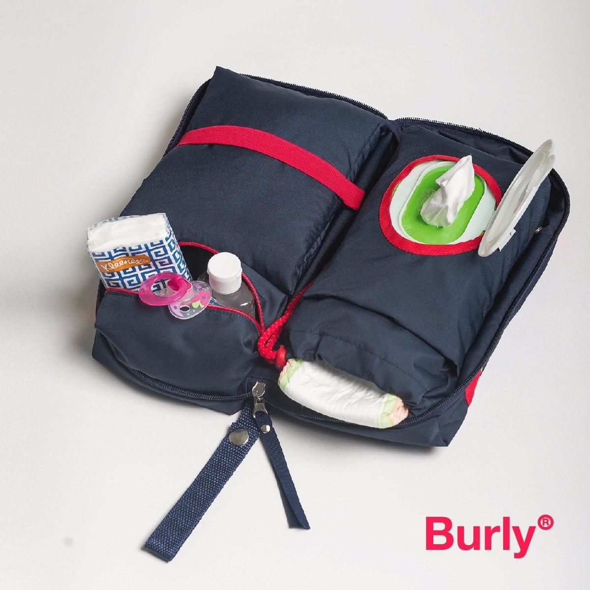 Bolso Cambiador De Bebes Desmontable De Diseño. Marca Burly ... bcf69ddc90fa