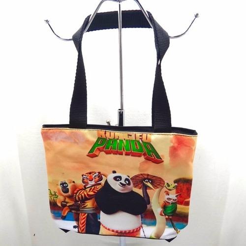 bolso cartera 20x20 kung fu panda disney personaje regalo