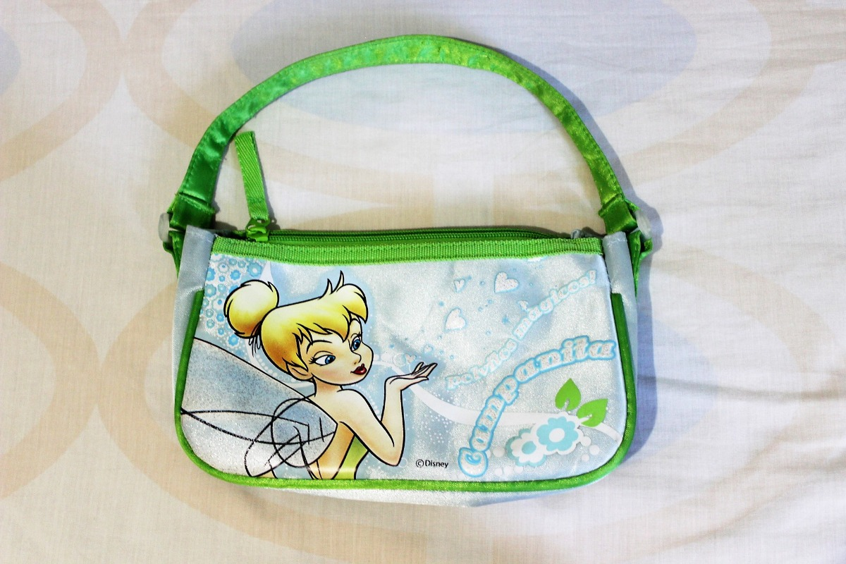 f6f9e9d76 bolso cartera de mano para niñas disney campanita original. Cargando zoom.