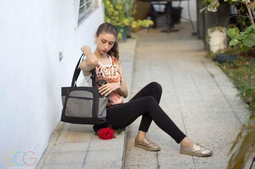 bolso / cartera deportiva morada para dama. gimnasio