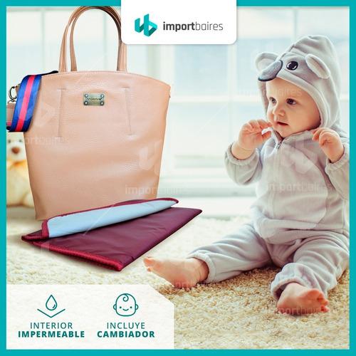 bolso cartera set maternal bebes con cambiador unisex