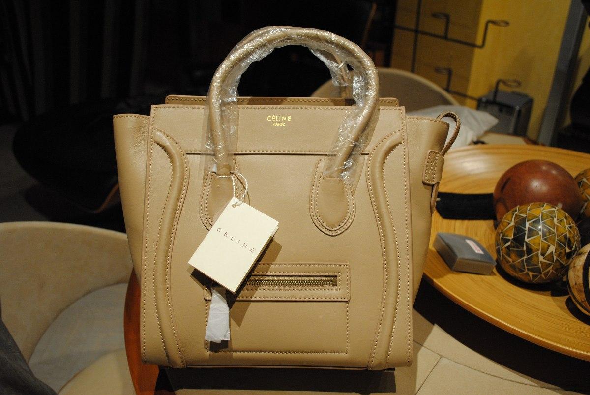 0b396e5d5 Bolso Celine Luggage Nude - $ 3,800.00 en Mercado Libre