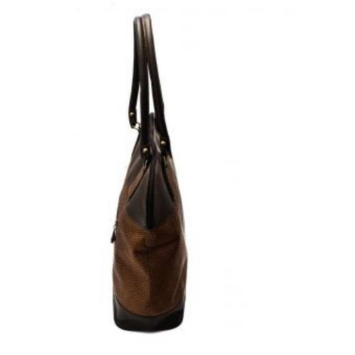 bolso c&f design - café granate grande