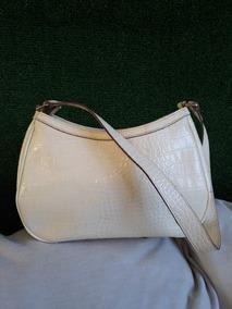 venta minorista 4d36d 6556a Bolsa De Mano Liz Claiborne Color Blanca Bolsas Casual ...