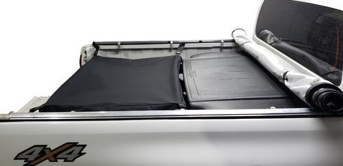 bolso d de lona p/ amarok ranger hilux s10 frontier 83cmprof