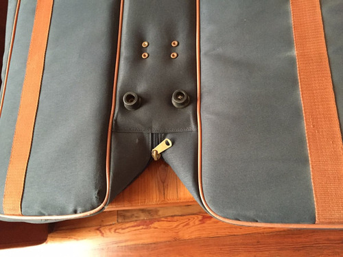 bolso dark transportador palos de golf reversible