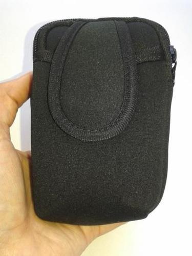 bolso de brazo corre con porta celular 15 x 10 x 3.5 cm