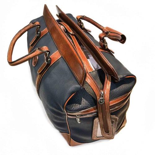 bolso de cuero hombre mujer viaje correa ajustable modelo 0959
