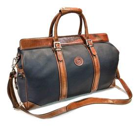 nuevo producto 7db2a f38a1 Bolso De Cuero Hombre Mujer Viaje Correa Ajustable Modelo 0959