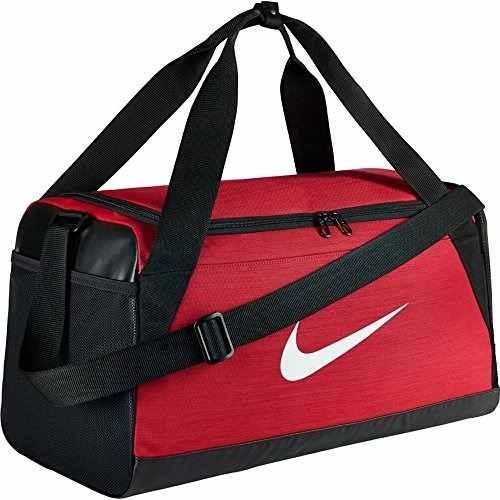 Negro Nike Entrenamiento Brasilia Bolso De Pequeño Rojo AZqT6