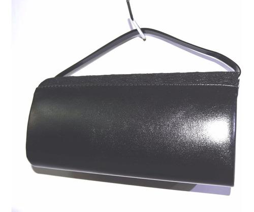 bolso de fiesta o noche nacional le sak con correa negro