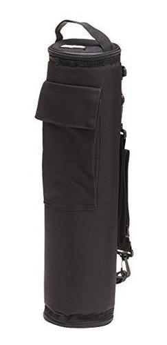 bolso de golf flexifreeze freezable can cooler, negro