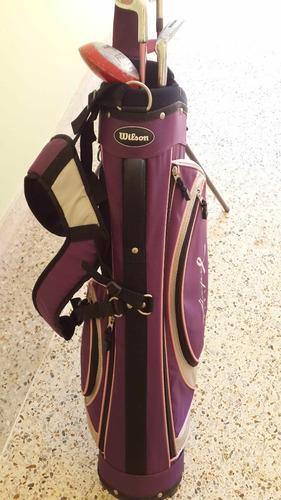 bolso de golf para niñas 6- 9 wilson