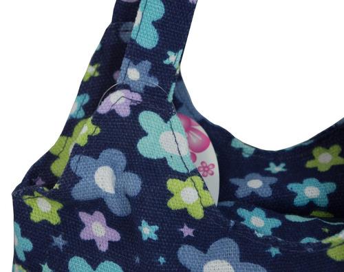 bolso de hombro color azul