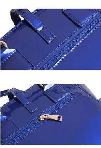 bolso de hombro para dama elegante ( tres piezas)