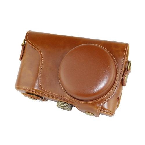 bolso de la caja de la cámara de cuero de la pu no.2 warehou