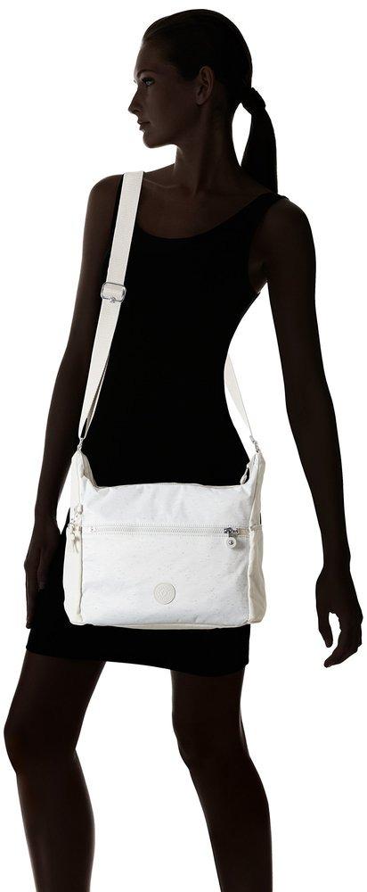 4bd84e4d7 Bolso De Lado Mujer Kipling Alenya Blanco Marfil - $ 83.990 en ...