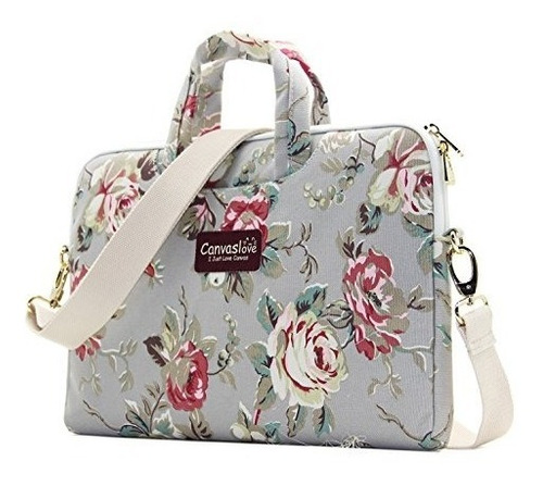 bolso de laptop canvaslove 15.6 in lona para macbook pro 15