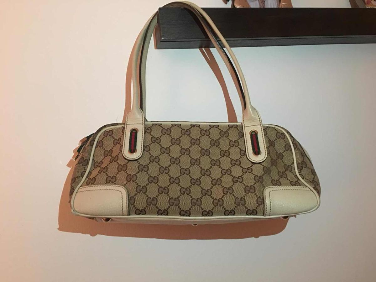 73a8aeb51 Bolso De Mano Gucci Original Ggcanvas Usada - $ 5,000.00 en Mercado ...