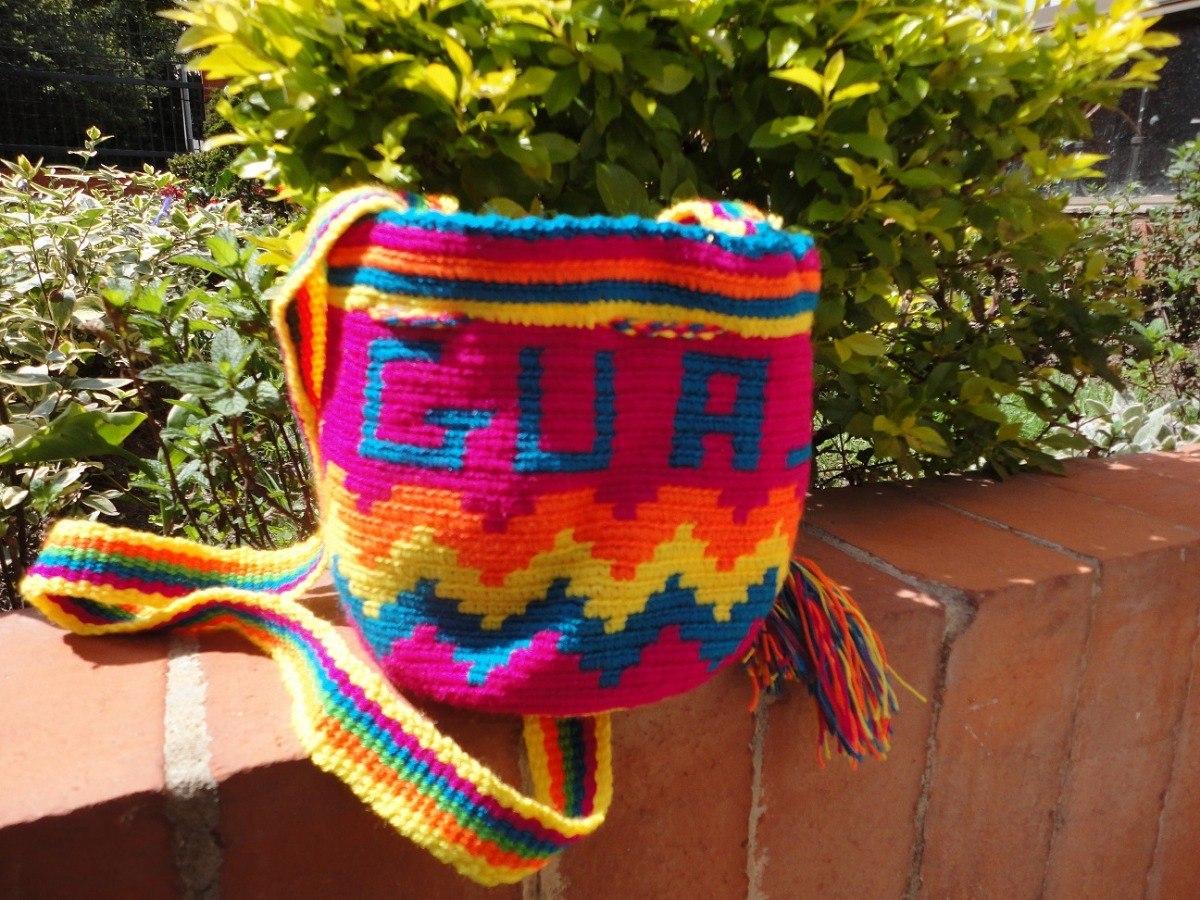 Bolso De Mano Wayúu Original De La Alta Guajira - $ 55.000 en ...