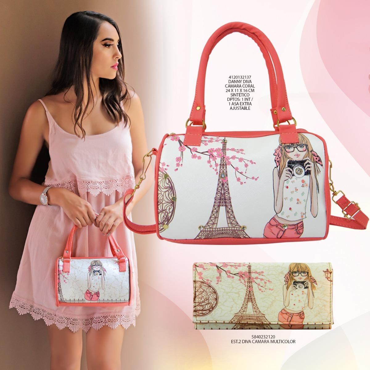 759caf589 bolso de mano y cartera dama estampado fashion venta mayoreo. Cargando zoom.