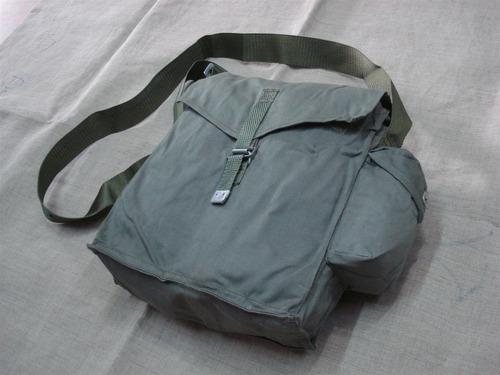 bolso (de mascara antigas) militar ejercito polonia