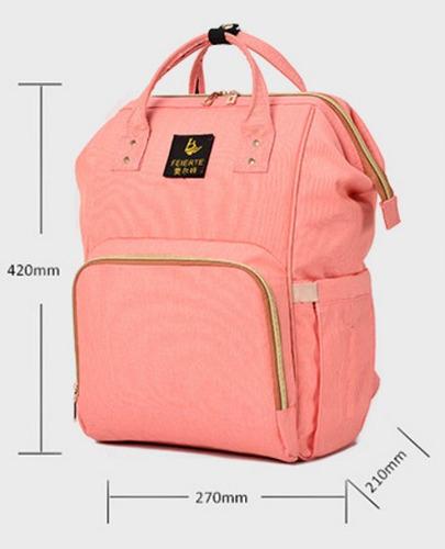 bolso de pañales de bebé portátil para viaje