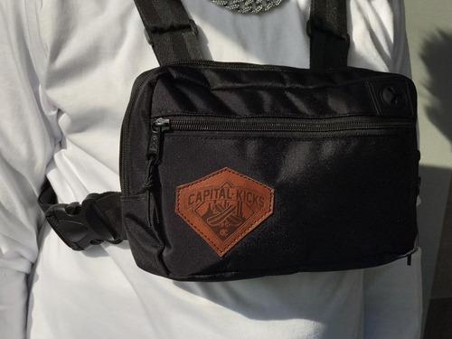 bolso de pecho chest risk bag capital kicks   reflectivo