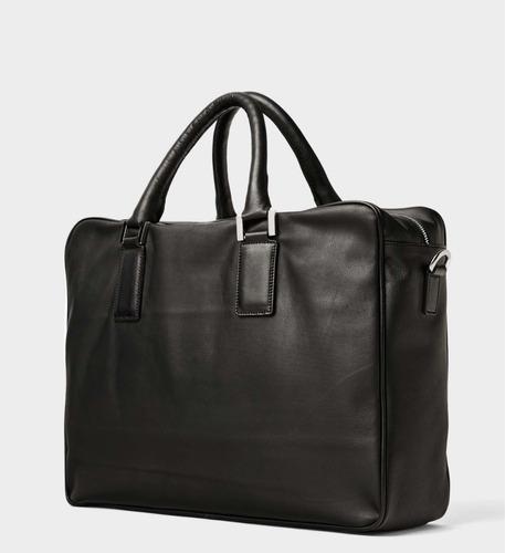 760ccf461 Bolso De Piel Auténtica Zara, Nuevo Y Con Etiquetas - $ 2,099.00 en ...