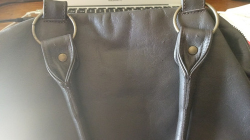 bolso de piel  marca julio