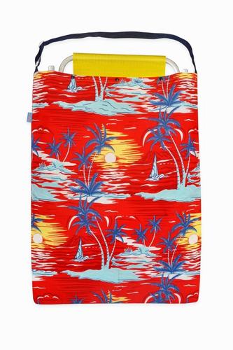 bolso de playa de lona para llevar 1 reposera