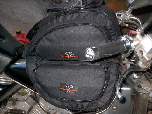 bolso de tanque touring - magnético