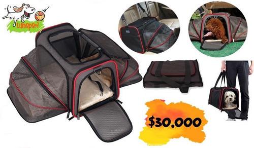 bolso de transporte plegable con extensión lateral /lumapari