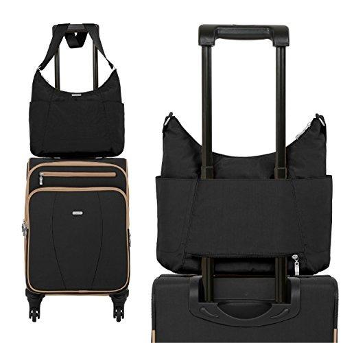 bolso de viaje baggallini hobo ligero con multiples bolsillo