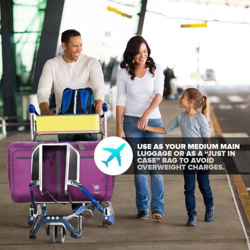 80747924b Bolso De Viaje Bago Travel Para Mujeres Y Hombres - Bolso ...