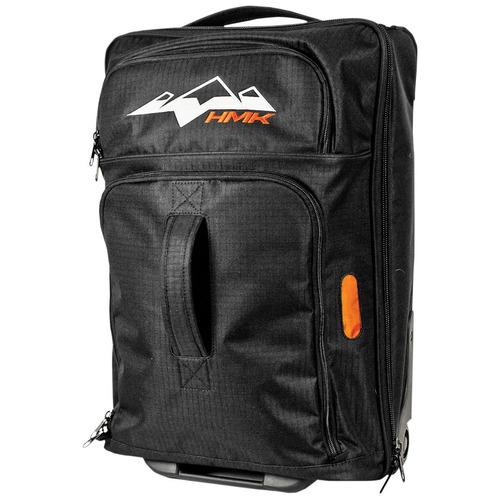 bolso de viaje hmk con ruedas negro