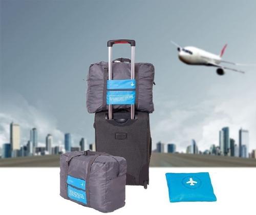 bolso de viaje plegable valija compacto ligero city-ventas
