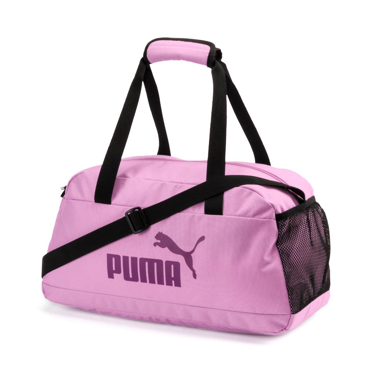 e6f1fd6c2db46 bolso deportivo phase mujer rosa puma original importado. Cargando zoom.