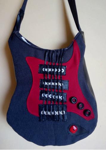 bolso diseño guitarra