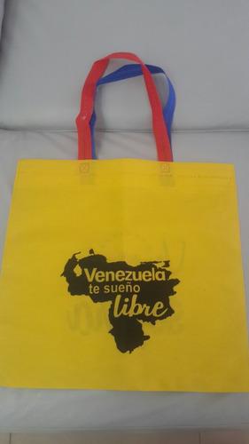 bolso ecologico bandera de venezuela