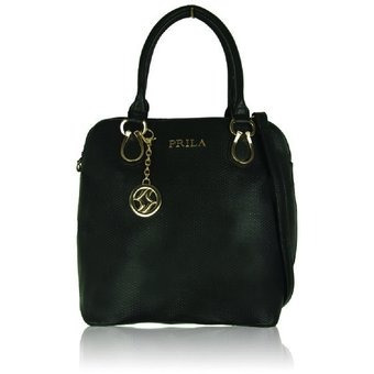 f952604f5 Bolso Emba Negro-marca Prila - $ 127.960 en Mercado Libre
