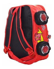 zapatos para baratas hacer un pedido gama completa de especificaciones Bolso Escolar Cars Para Niño 30x26cm Nuevo Disney Pixar