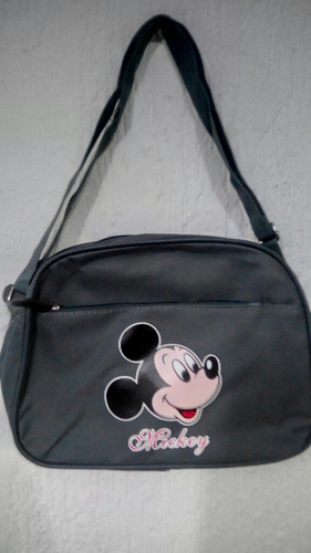 bolso escolar morral mickey mouse