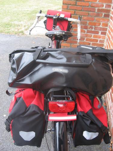 bolso estanco ortlieb rack pack 49 litros